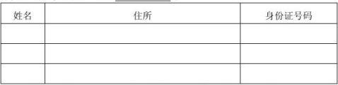 设立范本住所使用说明股东会决议总经理聘任承诺书