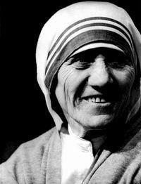 特蕾莎修女一生名言