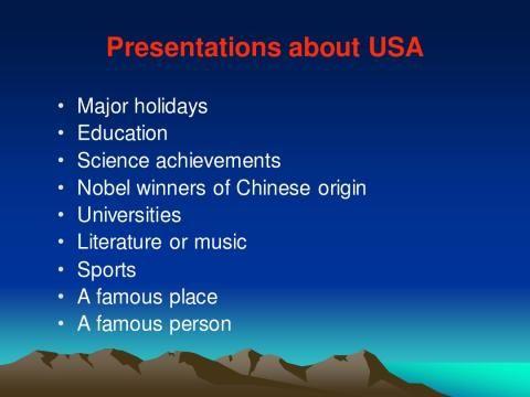 英语演讲话题