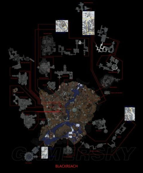 上古卷轴5天际黑降地图