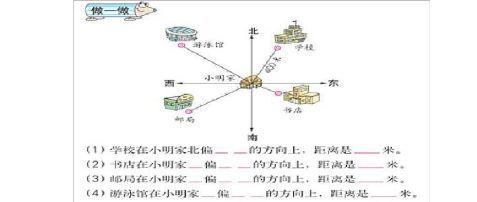 六年级上册第二单元位置与方向教案