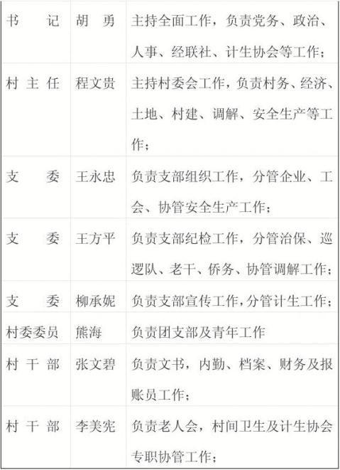 鸦沐羽村干部目标管理考核办法