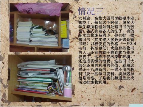 创业计划书旧书回收
