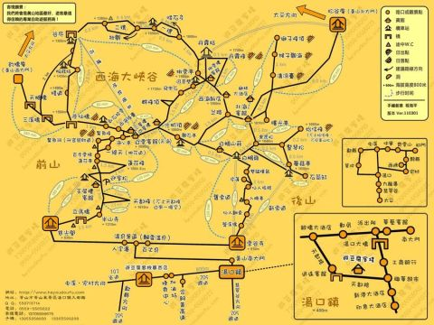 上海到黄山自驾游线路
