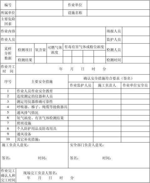 有限空间作业安全技术规程浙江省地方标准报批稿