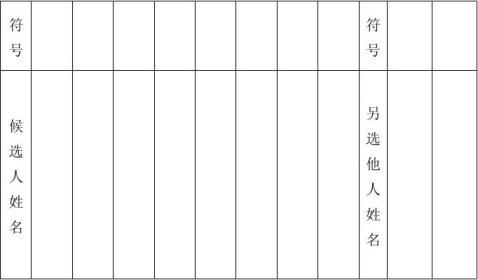 基层党支部换届选举程序