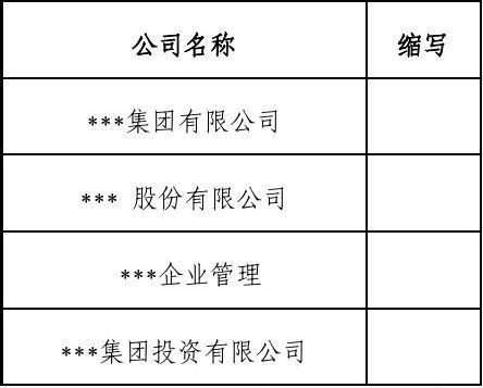 集团有限公司合同编号规则